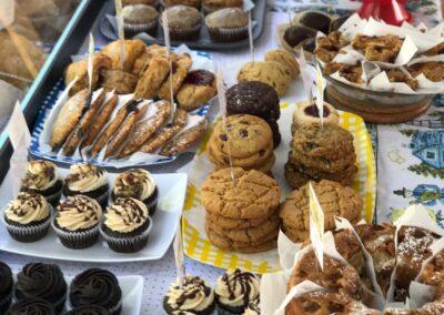 Vegan Baked Goods Display