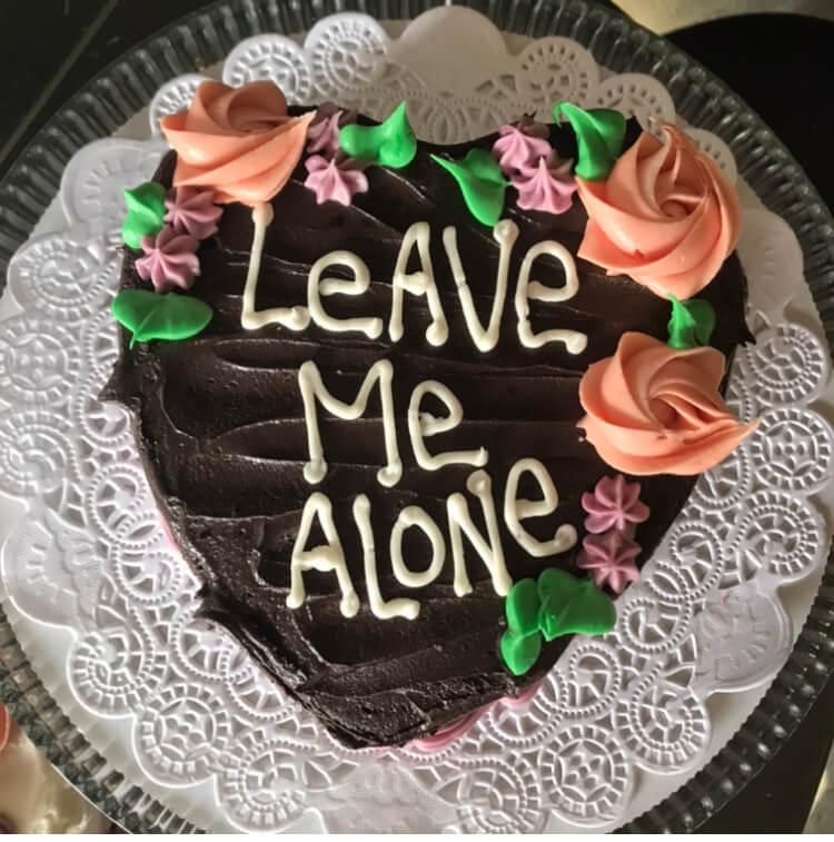 Vegan Cake for two